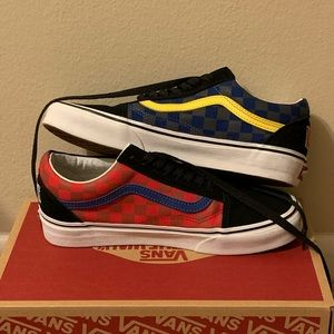 Otw rally checkerboard old Skool vans